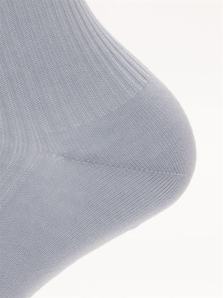 履き口メローリブソックス17cm丈