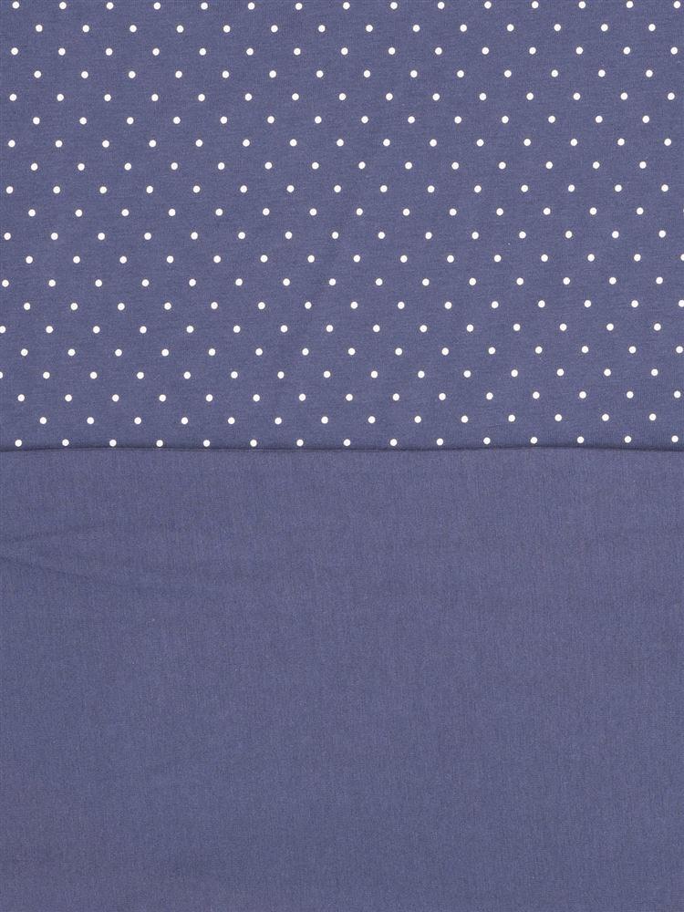 ドット天竺パジャマ(半袖×5分丈パンツ)