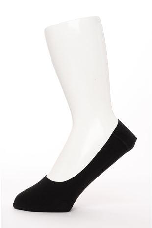 [かかとピタッと]綿混深履きメンズカバーソックス|
