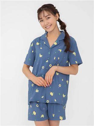 フルーツ柄レーヨン布帛パジャマ|