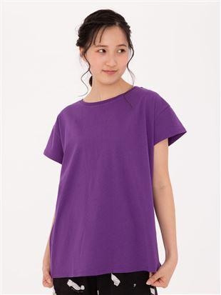 バックロゴドロップTシャツ|トップス