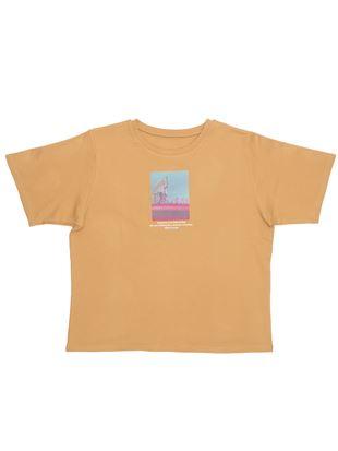 フォトプリントスムースTシャツ|