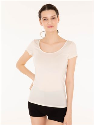 tutuCOOL半袖(汗とりパッド付き)[SSサイズ,LLサイズWEB限定]|半袖シャツ