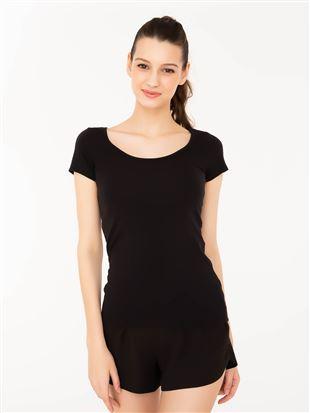 さらふわコットン半袖(汗とりパッド付き)[LLサイズWEB限定]|半袖シャツ