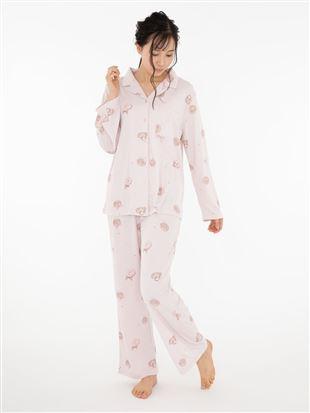 ドーナツ柄スムースパジャマ|パジャマ