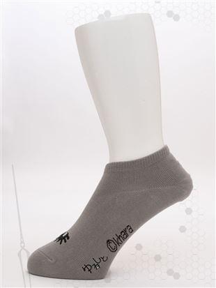 [EVANGELION]メンズ使徒刺繍ローカットくるぶしソックス(WEB限定)|メンズソックス
