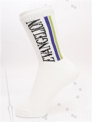 [EVANGELION]アメリブ綿混ソックス18cm丈(WEB限定)|クルーソックス