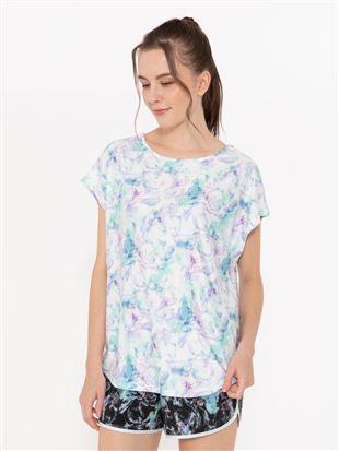 ぼかし柄ドルマンTシャツ|スポーツウェア・トップス