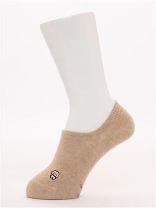 左右柄違い犬刺繍と足跡柄ローカットくるぶしソックス|スニーカー(くるぶし)ソックス