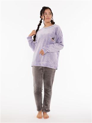 [EVANGELION]ゆるしとポケット刺繍マイクロファイバーパジャマ|パジャマ