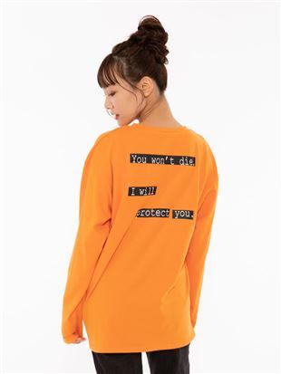 [EVANGELION]セリフロゴTシャツ|トップス