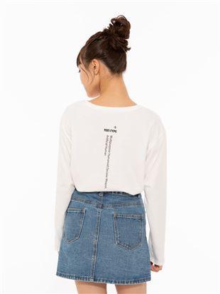 [EVANGELION]バックロゴTシャツ|トップス