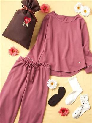 【ギフトセット】母の日パジャマ+靴下ベーシックセット(WEB限定)|ルームウェア