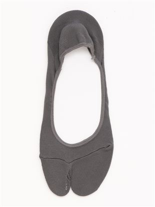 COOLMAX2本指滑り止め付き浅履きカバーソックス|足袋・2本指ソックス