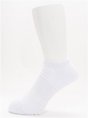 [メンズ]スポーツ土踏まずサポートくるぶしソックス 