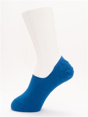 [ストレス0靴下]消臭無地パイル超深履きカバーソックス|