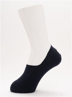[ストレス0靴下]消臭無地パイル超深履きカバーソックス|カバーソックス・フットカバー