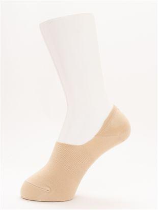 [ストレス0靴下]温調無地超深履きカバーソックス|