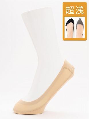 [ストレス0靴下]ナイロン超浅履きカバーソックス|カバーソックス・フットカバー