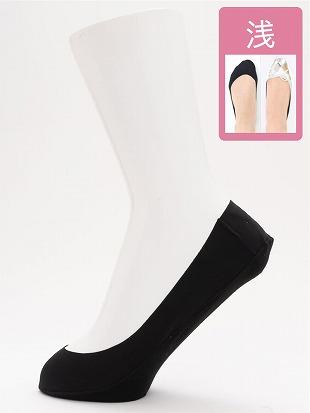 [ストレス0靴下]ナイロン浅履きカバーソックス|カバーソックス・フットカバー