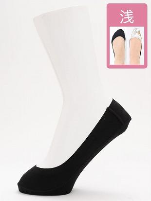 [ストレス0靴下]綿混浅履きカバーソックス|カバーソックス・フットカバー