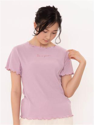 リブメローTシャツ|