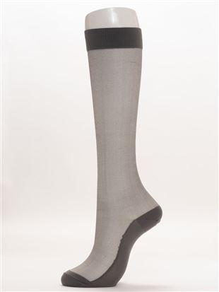 シースルーハイソックス38cm丈|ハイソックス