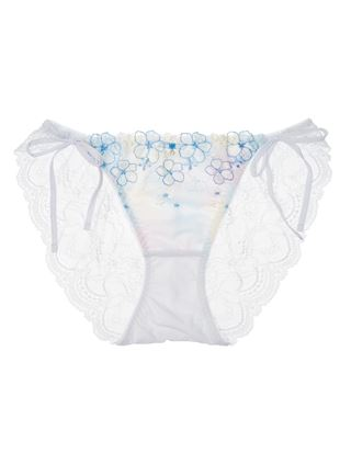 [美胸UPブラ]ミストフルールヒモショーツ|紐パンツ