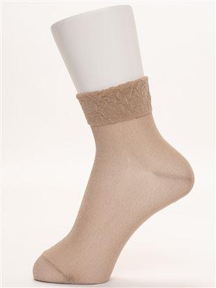 【橋下美好オリジナル】シースルーソックス11cm丈|クルーソックス
