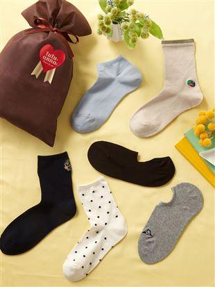 【ギフトセット】母の日靴下カジュアルセット6足組(WEB限定)|レッグウェア