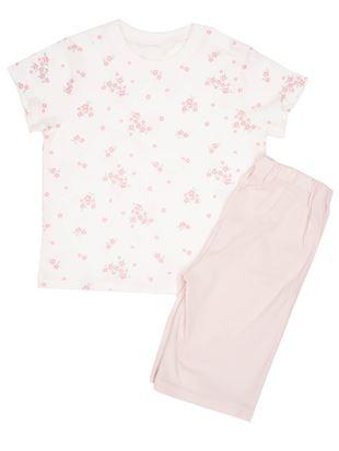 [キッズ]花柄パジャマ|