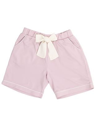 ◆【橋下美好オリジナル】裏毛リボン付きショートパンツ|ボトム