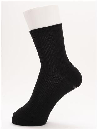 履き口ゆったり綿100%リブソックス16cm丈 