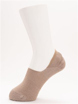 [ストレス0靴下]DRYラメ深履きカバーソックス|カバーソックス・フットカバー