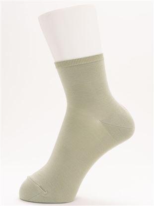 [ちょうどいい靴下]平無地ソックス12cm丈|