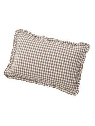 ギンガムチェック柄枕カバー|