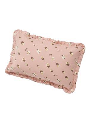 とことこアニマル柄フランネル枕カバー|
