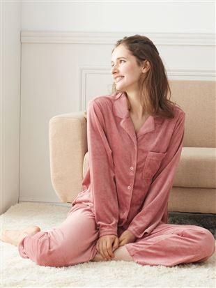 ベロア無地パジャマ|パジャマ