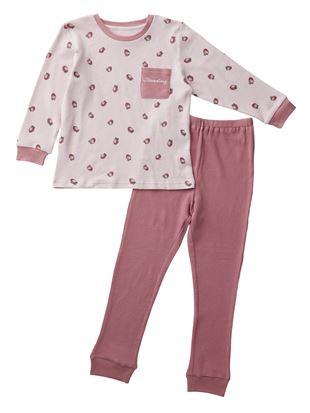 [キッズ]いちご総柄ワッフルパジャマ|