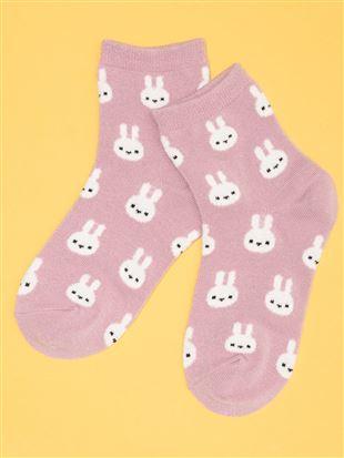 [キッズ]ちょうどいい靴下うさちゃんソックス|キッズソックス