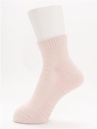 [スポーツ]土踏まずサポート無地ソックス11.5cm丈 