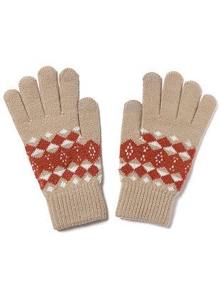 ノルディック柄手袋|手袋