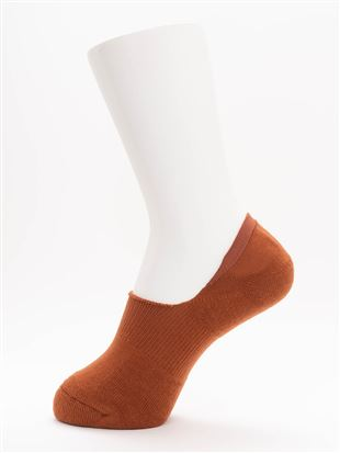 [ストレス0靴下]毛混底パイル裏起毛超深履きカバーソックス|
