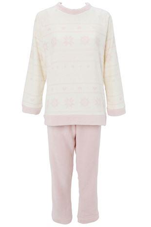 雪柄マイクロファイバーパジャマ|パジャマ