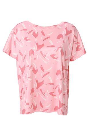 総柄ドルマンTシャツ|